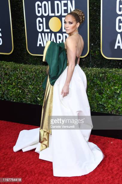 Jennifer Lopez attends the 77th Annual Golden Globe Awards at The Beverly Hilton Hotel on January 05 2020 in Beverly Hills California