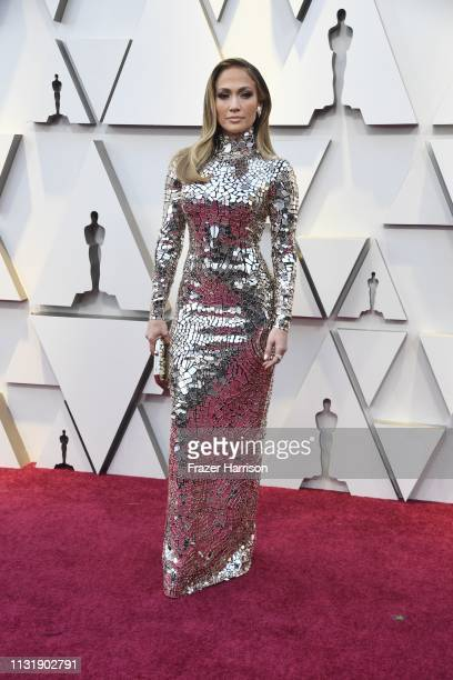 Jennifer Lopez attends the 91st Annual Academy Awards at Hollywood and Highland on February 24 2019 in Hollywood California