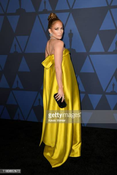 Jennifer Lopez attends the Academy Of Motion Picture Arts And Sciences' 11th Annual Governors Awards at The Ray Dolby Ballroom at Hollywood Highland...