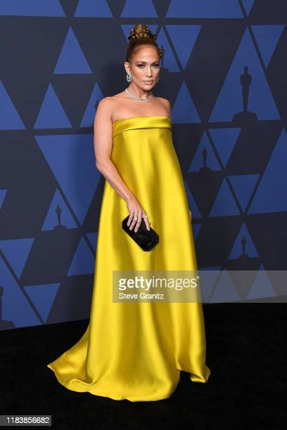 Jennifer Lopez attends the Academy Of Motion Picture Arts And Sciences' 11th Annual Governors Awards at The Ray Dolby Ballroom at Hollywood &...