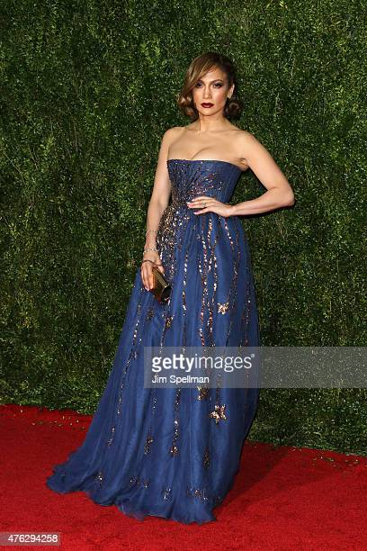 Jennifer Lopez attends the American Theatre Wing's 69th Annual Tony Awards at Radio City Music Hall on June 7 2015 in New York City