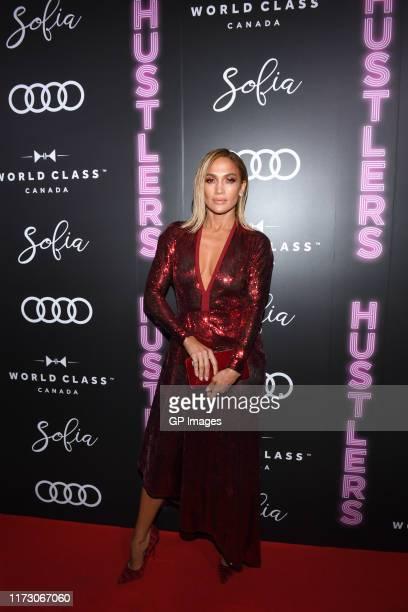 Jennifer Lopez attends the Audi Canada Sofia and World Class postscreening event for Hustlers during the Toronto International Film Festival at Sofia...