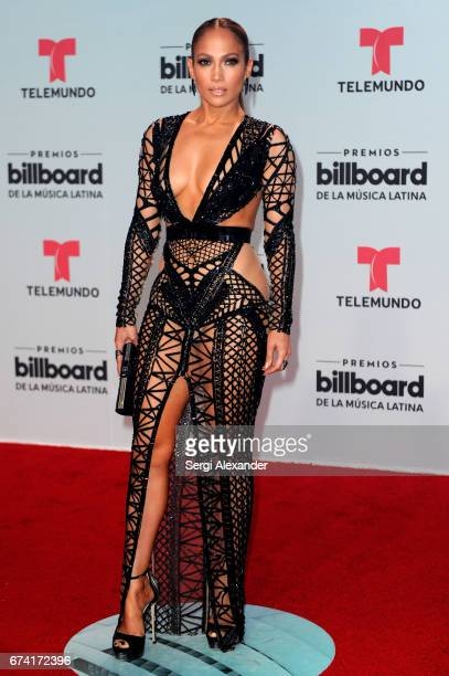Jennifer Lopez attends the Billboard Latin Music Awards at Watsco Center on April 27 2017 in Coral Gables Florida