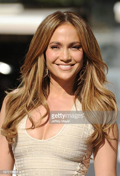 Jennifer Lopez attends the Boys And Girls Clubs Of America Announcement With Denzel Washington And Jennifer Lopez at Nokia Theatre LA Live on...
