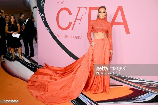 Jennifer Lopez attends the CFDA Fashion Awards at the Brooklyn Museum of Art on June 03 2019 in New York City
