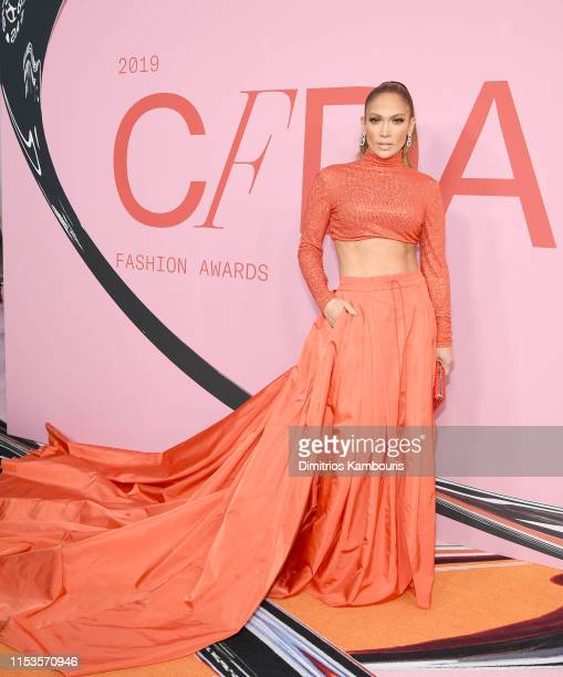 Jennifer Lopez attends the CFDA Fashion Awards on June 03 2019 in New York City