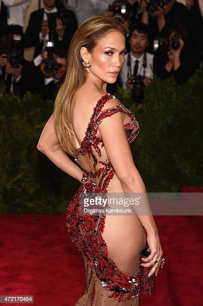 "Jennifer Lopez attends the ""China: Through The Looking Glass"" Costume Institute Benefit Gala at the Metropolitan Museum of Art on May 4, 2015 in New..."