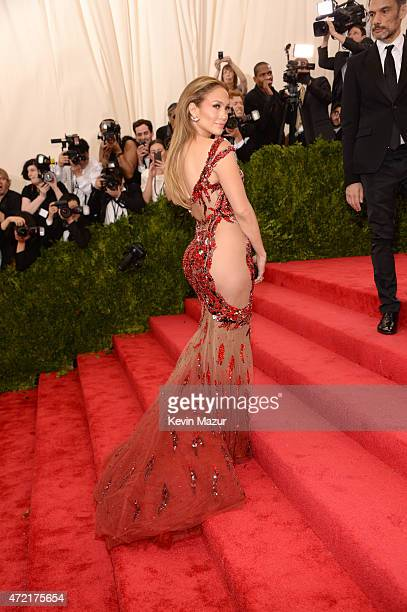 Jennifer Lopez attends the 'China Through The Looking Glass' Costume Institute Benefit Gala at Metropolitan Museum of Art on May 4 2015 in New York...