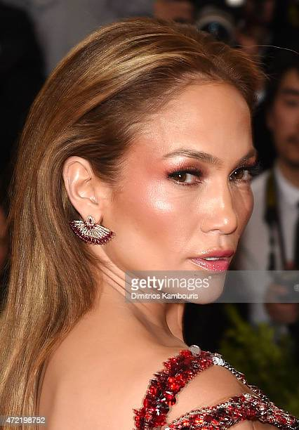 Jennifer Lopez attends the China Through The Looking Glass Costume Institute Benefit Gala at the Metropolitan Museum of Art on May 4 2015 in New York...