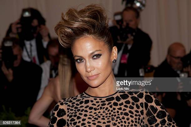 Jennifer Lopez attends the Costume Institute Gala for the 'PUNK Chaos to Couture' exhibition at the Metropolitan Museum of Art in New York City �� LAN