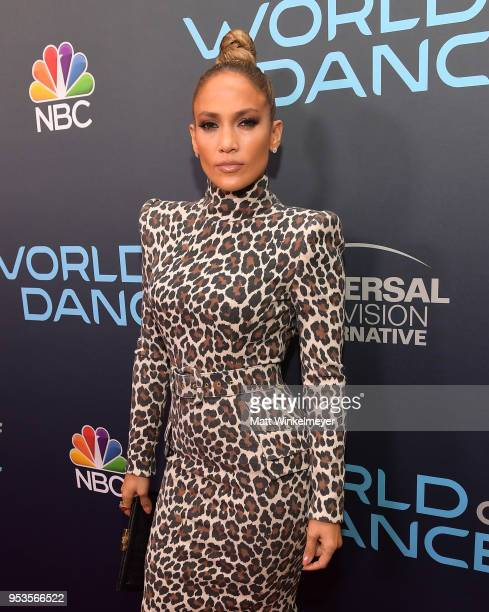 """Jennifer Lopez attends the FYC event for NBC's """"World of Dance"""" at Saban Media Center on May 1, 2018 in North Hollywood, California."""