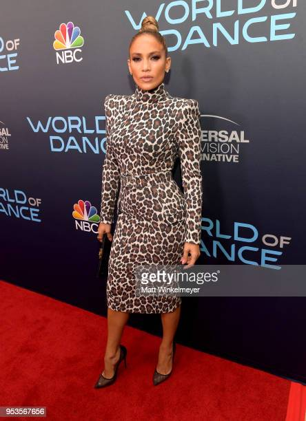 Jennifer Lopez attends the FYC event for NBC's World of Dance at Saban Media Center on May 1 2018 in North Hollywood California