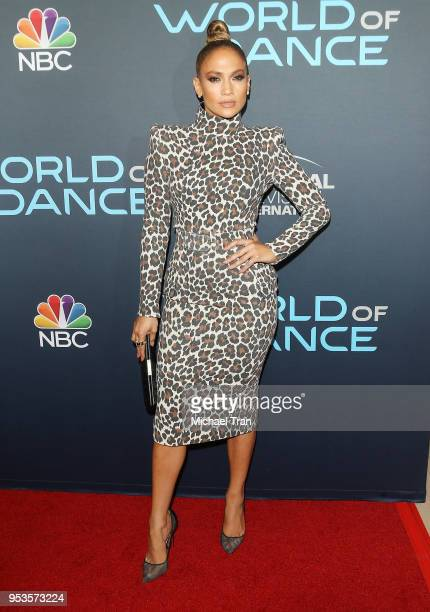 Jennifer Lopez attends the FYC Event For NBC's World Of Dance held at Saban Media Center on May 1 2018 in North Hollywood California