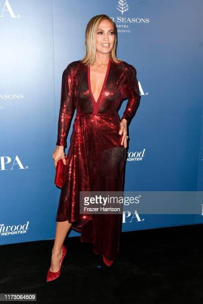Jennifer Lopez attends the HFPA/THR TIFF PARTY during the 2019 Toronto International Film Festival at Four Seasons Hotel on September 07, 2019 in...