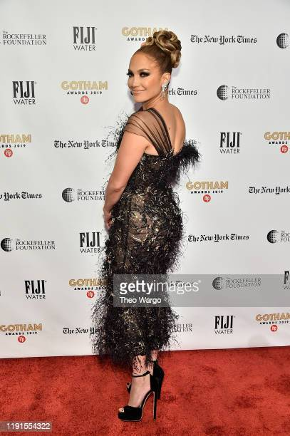 Jennifer Lopez attends the IFP's 29th Annual Gotham Independent Film Awards at Cipriani Wall Street on December 02, 2019 in New York City.