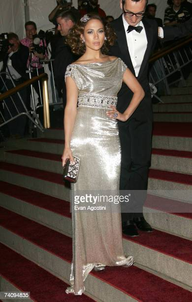 "Jennifer Lopez attends the Metropolitan Museum of Art Costume Institute Benefit Gala ""Poiret: King Of Fashion"" at the Metropolitan Museum of Art on..."