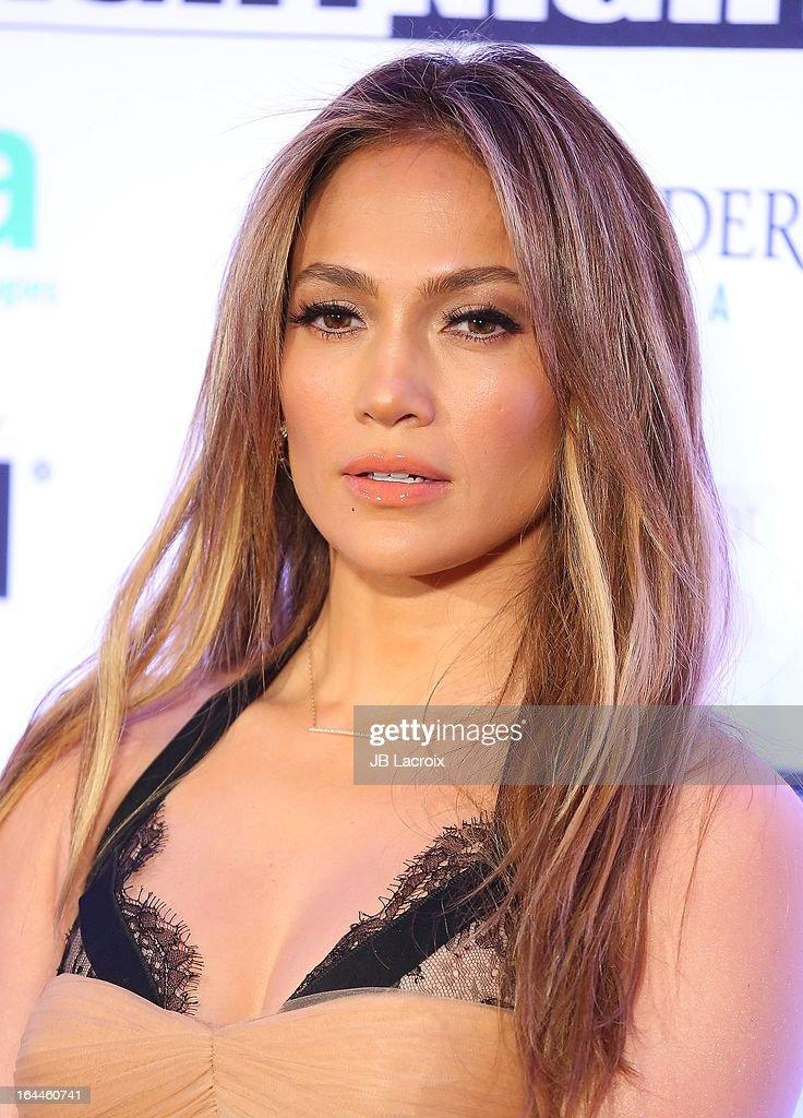 Jennifer Lopez attends the Muhammad Ali's Celebrity Fight Night XIX held at JW Marriott Desert Ridge Resort & Spa on March 23, 2013 in Phoenix, Arizona.