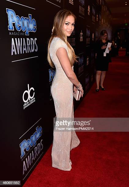 Jennifer Lopez attends the PEOPLE Magazine Awards at The Beverly Hilton Hotel on December 18 2014 in Beverly Hills California