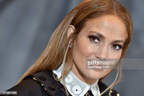 Jennifer Lopez attends the photo call for STX Films' 'Second Act' at Four Seasons Hotel Los Angeles at Beverly Hills on December 09 2018 in Los...