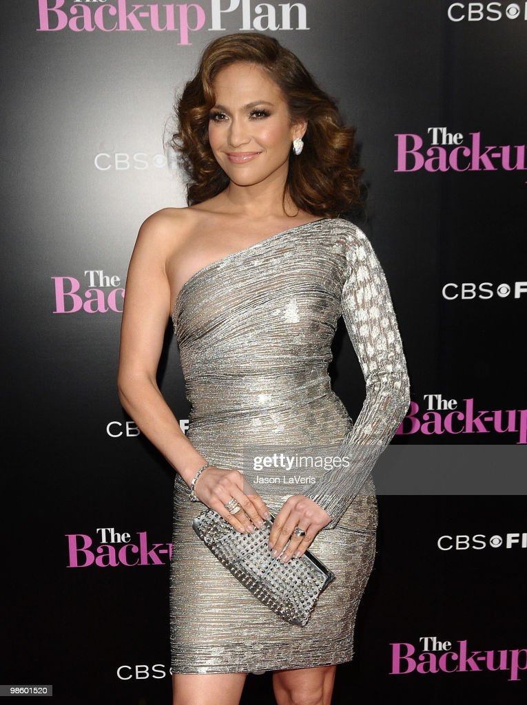 Jennifer Lopez attends the premiere of 'The Back-Up Plan' at Regency Village Theatre on April 21, 2010 in Westwood, California.