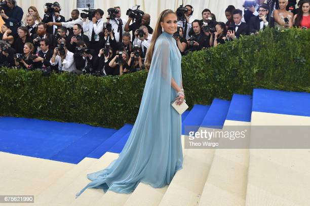 """Jennifer Lopez attends the """"Rei Kawakubo/Comme des Garcons: Art Of The In-Between"""" Costume Institute Gala at Metropolitan Museum of Art on May 1,..."""
