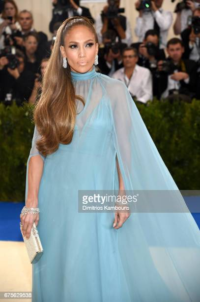 "Jennifer Lopez attends the ""Rei Kawakubo/Comme des Garcons: Art Of The In-Between"" Costume Institute Gala at Metropolitan Museum of Art on May 1,..."