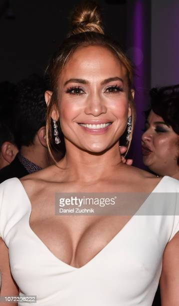 Jennifer Lopez attends the 'Second Act' World Premiere After Party at West Edge on December 12 2018 in New York City