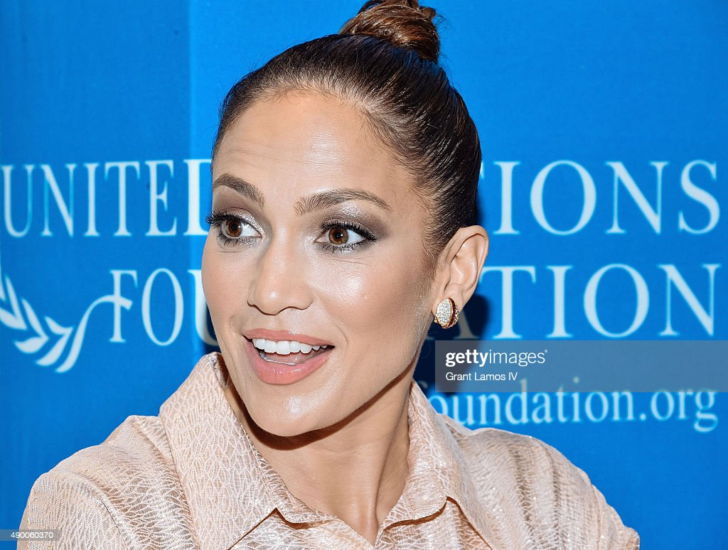 Jennifer Lopez attends the UN Foundation's Gender Equality Discussion at The Four Seasons Restaurant on September 25, 2015 in New York City.