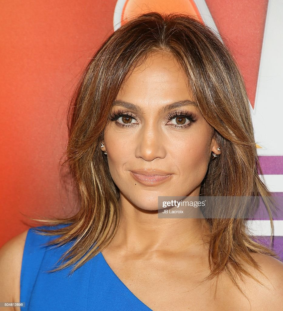 Jennifer Lopez attends the Winter TCA Tour - NBCUniversal Press Tour at the Langham Huntington Hotel on January 13, 2016 in Pasadena, California.