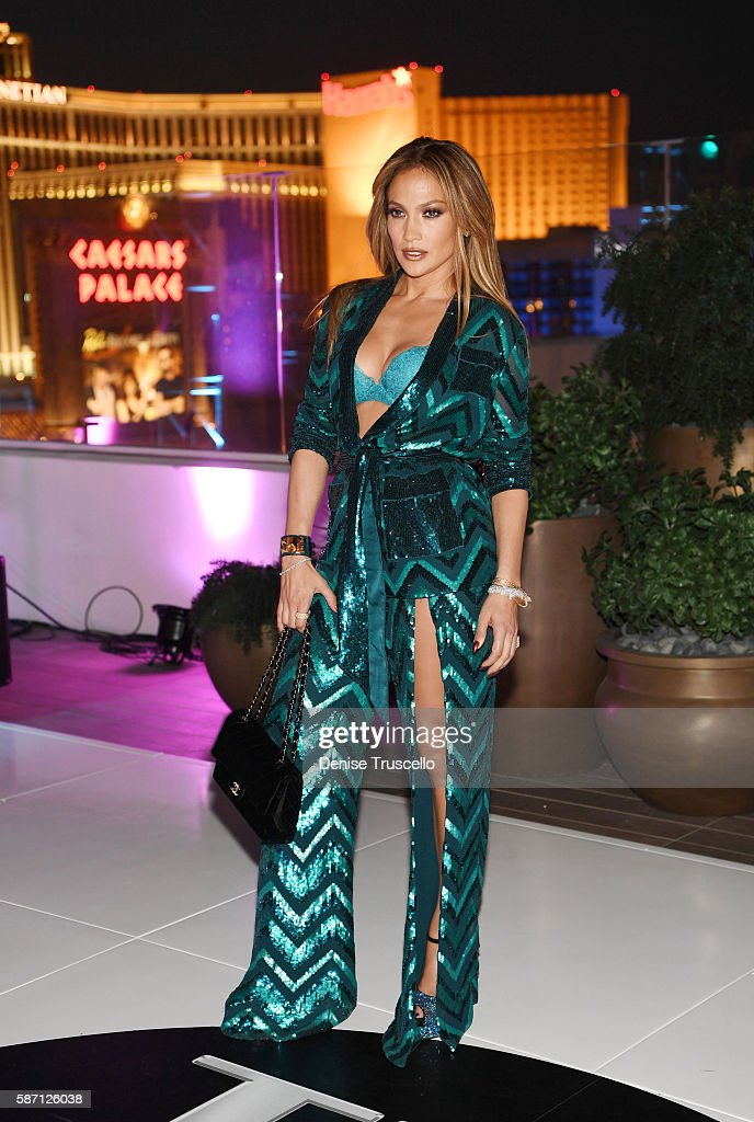 Jennifer Lopez celebrates her birthday at Nobu Villa Atop Nobu Hotel at Caesars Palace on July 24, 2016 in Las Vegas, Nevada.