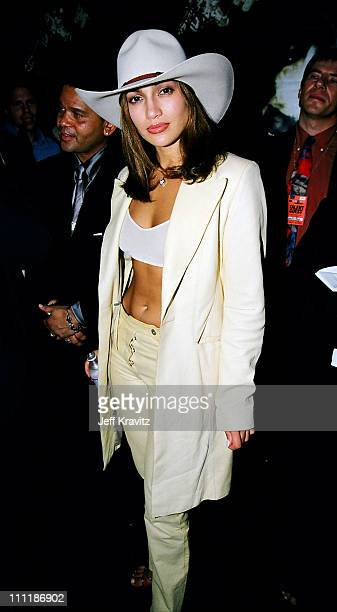 Jennifer Lopez during 1998 MTV Video Music Awards at Universal Amphitheatre in Los Angeles California United States