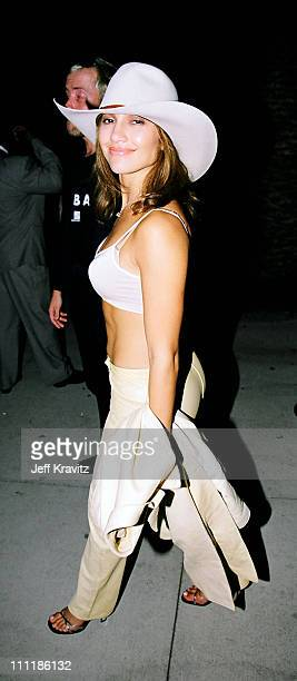 Jennifer Lopez during 1998 MTV VMA After Party Hosted by Madonna at Mortons in Los Angeles CA United States