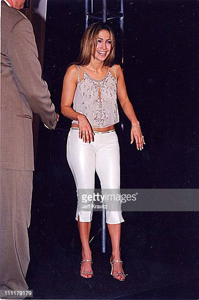 Jennifer Lopez during 1999 Blockbuster Awards in Los Angeles California United States