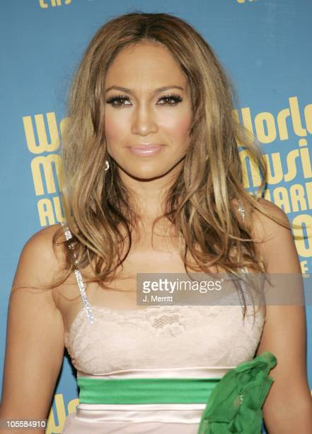 Jennifer Lopez during 2004 World Music Awards Arrivals at The Thomas and Mack Center in Las Vegas Nevada United States