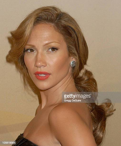 Jennifer Lopez during 2006 Women In Film Crystal + Lucy Awards - Arrivals at Century Plaza Hotel in Century City, California, United States.
