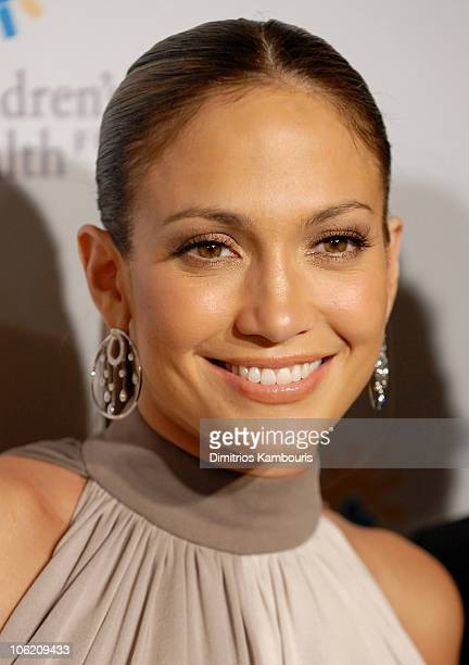 Jennifer Lopez during 20th Annual Childrens Fund Gala Arrivals at Hilton Hotel in New York City New York United States