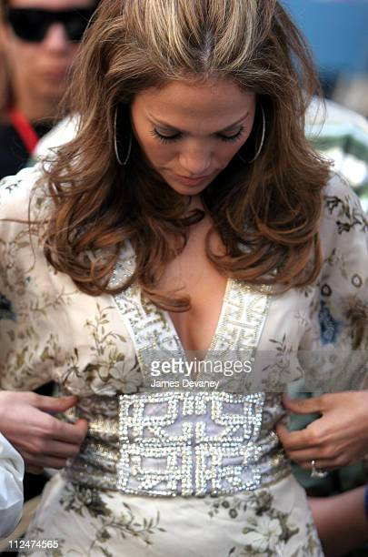 Jennifer Lopez during 48th Annual Puerto Rican Day Parade June 11 2006 at Street Location in New York New York United States