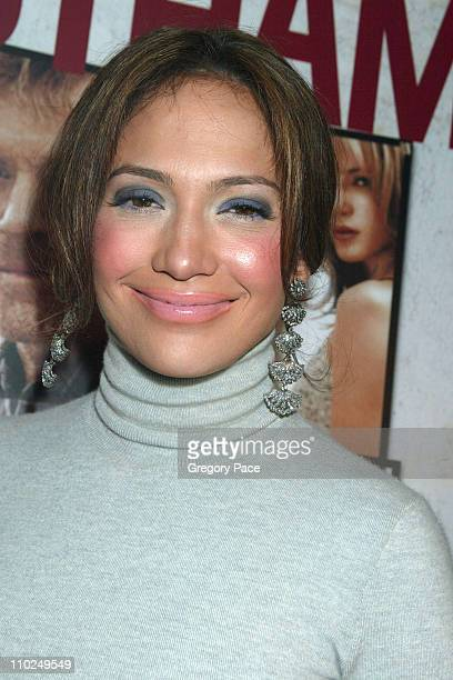 Jennifer Lopez during An Unfinished Life New York City Premiere at Directors Guild of America Theater in New York City New York United States