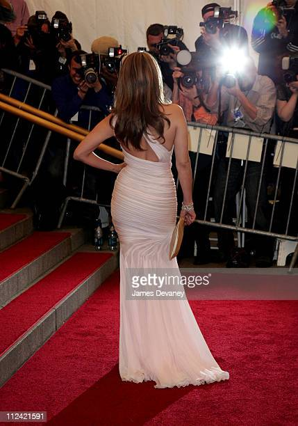 Jennifer Lopez during AngloMania Costume Institute Gala at The Metropolitan Museum of Art Arrivals Celebrating AngloMania Tradition and Transgression...