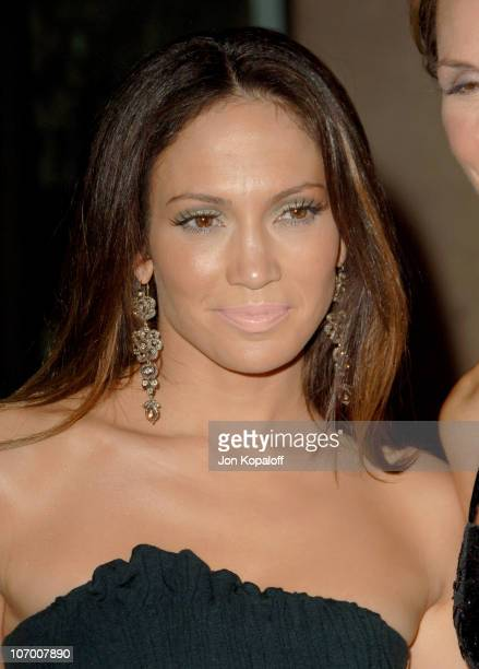 Jennifer Lopez during Childrens Hospital Los Angeles 2nd Noche de Ninos Gala Honoring Johnny Depp Arrivals at Beverly Hilton Hotel in Beverly Hills...