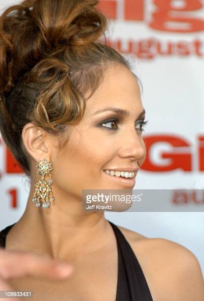 Jennifer Lopez during Gigli California Premiere at Mann National in Westwood, California, United States.