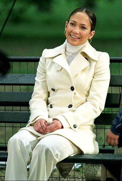 Jennifer Lopez On Location For Maid In Manhattan Photos And Images