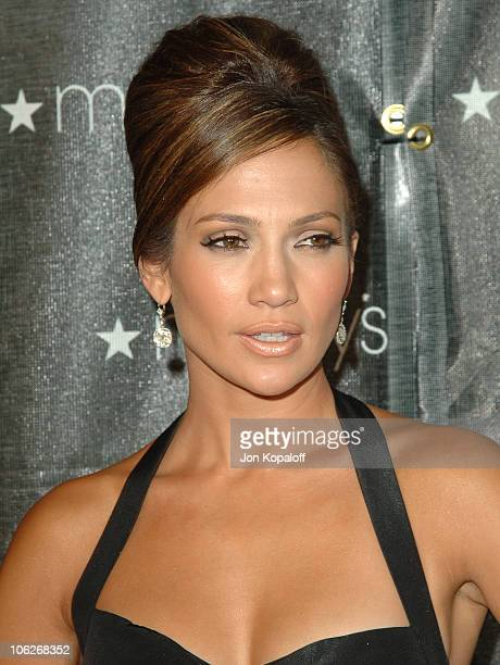 Jennifer Lopez during Macy's Passport 2005 Presented By American Express Arrivals at Barker Hanger in Santa Monica California United States