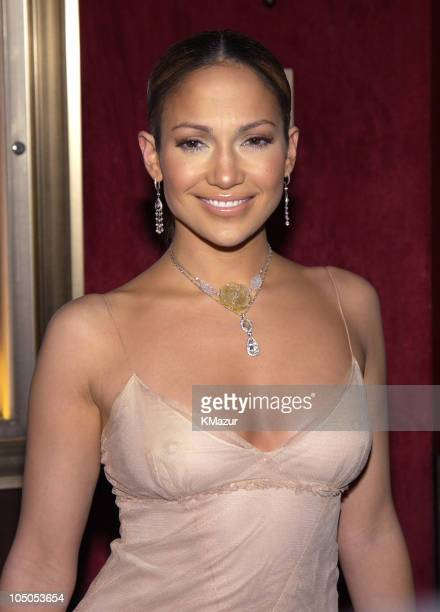 Jennifer Lopez during Maid in Manhattan Premiere Inside Arrivals at Ziegfeld Theater in New York City New York United States