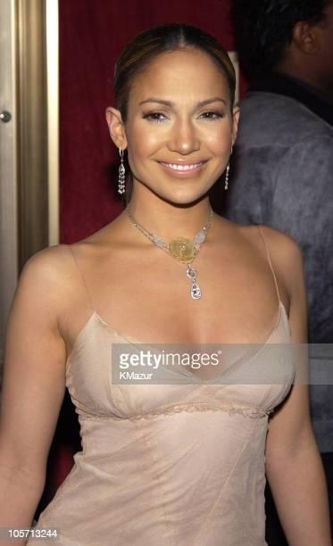 Jennifer Lopez during 'Maid in Manhattan' Premiere Inside Arrivals at Ziegfeld Theater in New York City New York United States