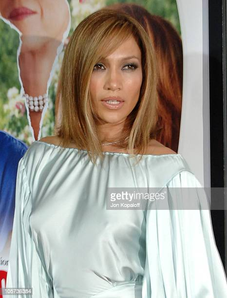 Jennifer Lopez during 'MonsterInLaw' Los Angeles Premiere at Mann National Theatre in Hollywood CA United States