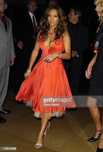 Jennifer Lopez during Noche de Ninos Childrens Hospital Los Angeles Gala Arrivals at Beverly Hilton Hotel in Beverly Hills California United States