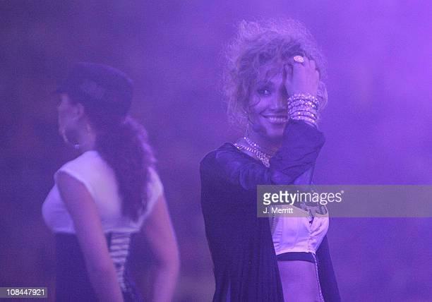 Jennifer Lopez during Ryan Seacrest at 102.7 KIIS-FM's Wango Tango 2005 at Angel Stadium in Los Angeles, CA, United States.