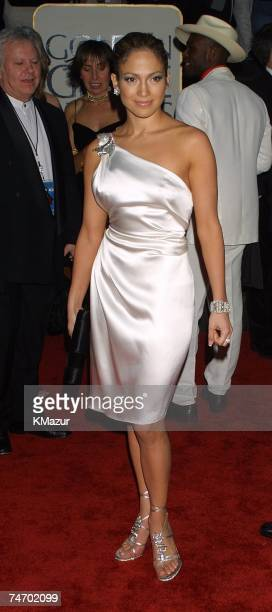Jennifer Lopez during The 58th Annual Golden Globe Awards Arrivals at the Beverly Hilton Hotel in Los Angeles CA