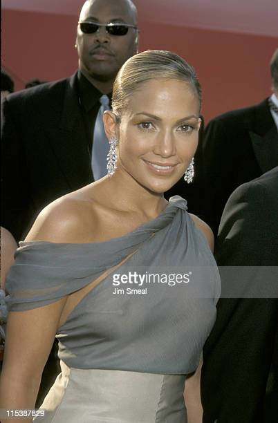 Jennifer Lopez during The 73rd Annual Academy Awards Arrivals at Shrine Auditorium in Los Angeles California United States
